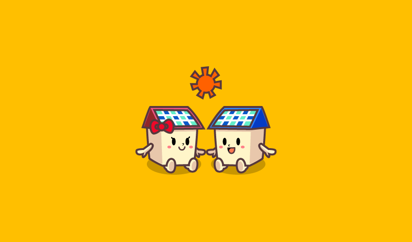 太陽光キャラクター